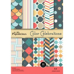 Papericious - Color Celebrations (A4 patterned paper)