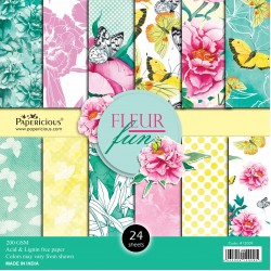 Papericious - Fleur Fun (12 by 12 paper)