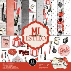 Papericious  Designer Collection - Mi Estilo (12 by 12 patterned paper)