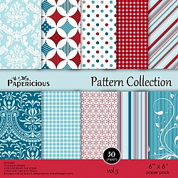 Papericious - Pattern Collection - Vol 3 (6 by 6 patterned paper)