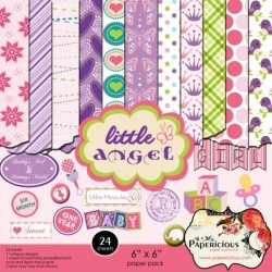Papericious - Little Angel (6 by 6 patterned paper)