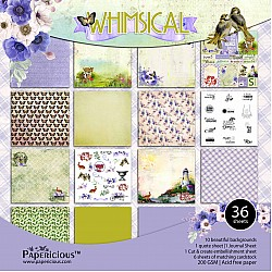 Papericious  Premium Collection - Whimsical (12 by 12 patterned paper)