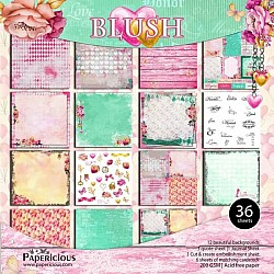 Papericious  Premium Collection - Blush (12 by 12 patterned paper)