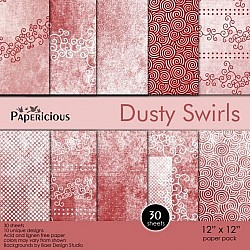 Papericious - Dusty Swirls (12 by 12 paper)