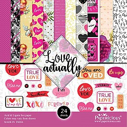 Papericious - Love Actually (6 by 6 paper)