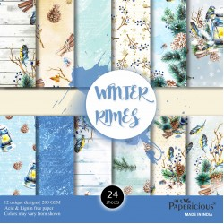 Papericious  Designer Collection - Winter Rymes (12 by 12 patterned paper)