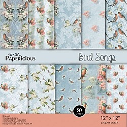 Papericious (Premium Collection) - Bird Songs (12 by 12 paper)