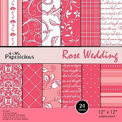 Papericious - Rose Wedding (12 by 12 paper)