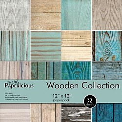 Papericious - Wooden Collection (12 by 12 paper)