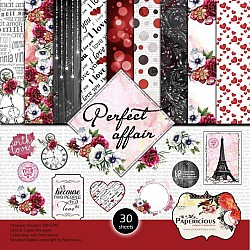 Papericious  Designer Collection - Perfect Affair (6 by 6 patterned paper)