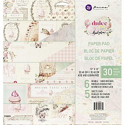 Prima - Dulce - 12x12 Paperpack  (24 double sided sheets)