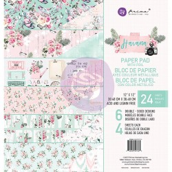 Prima - Havana - 12x12 Paperpack  (24 double sided sheets)