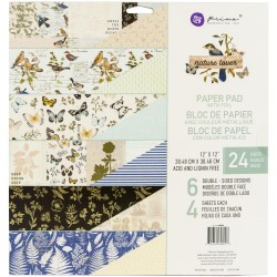 """Prima Marketing Double-Sided Paper Pad 12""""X12"""" 24/Pkg - Nature Lover"""