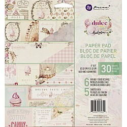 Prima - Dulce - 8by8 Paperpack  (30 double sided sheets)