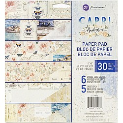 Prima - Capri - 8by8 Paperpack  (30 double sided sheets)