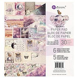 Prima - Moon Child - 8by8 Paperpack  (30 double sided sheets)