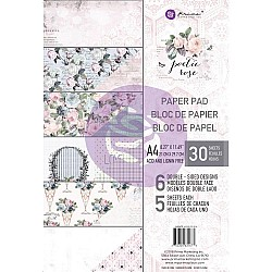 Prima Marketing Double-Sided Paper Pad A4 30/Pkg - Poetic Rose, 6 Designs/5 Each