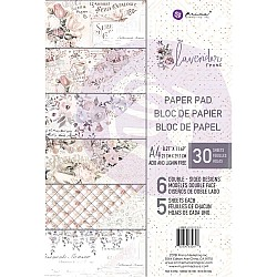 Prima - Lavendar Frost - A4 Paperpack  (30 double sided sheets)