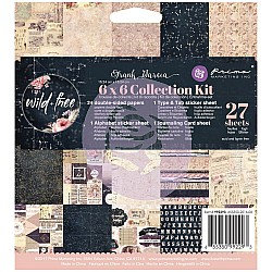 Prima - Frank Garcia Wild & Free (6x6 Collection Kit)