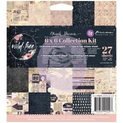 Prima - Frank Garcia Wild & Free (6x6 Collection Kit)