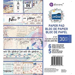 Prima - Santorini - 6x6 Paperpack  (30 double sided sheets)