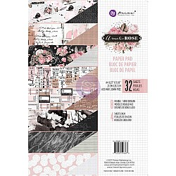 Prima - Amelia Rose - A4 Paperpack  (30 double sided sheets)