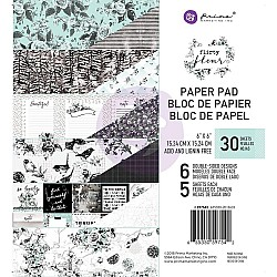 Prima - Flirty Fleur - 6x6 Paperpack  (30 double sided sheets)