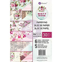 Prima - Misty Rose - A4 Paperpack  (30 double sided sheets)