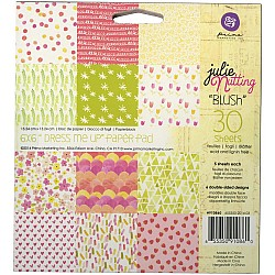 Prima - Blush - 6x6 Paperpack  (30 double sided sheets)