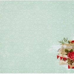 ScrapBerrys 12x12 Patterned Paper - Winter Joy - Winter Wonderland (Set of 10 sheets)