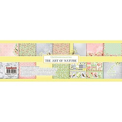 "ScrapBerry's The Art Of Nature Paper Pack 12""X12"" 8/Pkg"