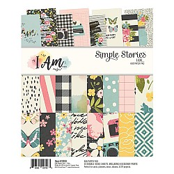 """Simple Stories Double-Sided Paper Pad - I Am (6""""X8"""" 24/Pkg)"""