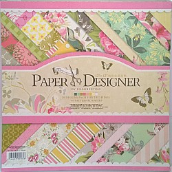 12x12 Scrapbook paper pack - Happy Birthday Paper Stack (Set of 40 sheets)