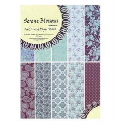 A5 Paper Pack - Serene Blossoms (Set of 30 sheets)