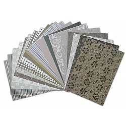 Assorted A5 Paper Pack - W&M Brown (Set of 40 sheets)