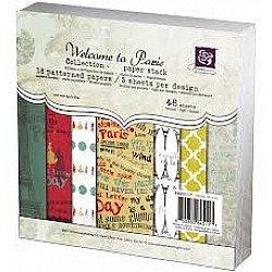 Prima - Welcome to Paris- 6x6 Paperpack