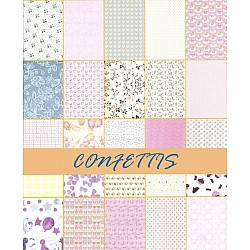 Assorted A4 Paper Pack - Confetties (Set of 50 sheets)