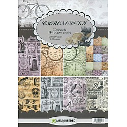 Assorted A5 Paper Pack - Chronology  (Set of 30 sheets)