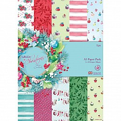 PaperMania A5 Paper Pack by Lucy Cromwell - At Christmas