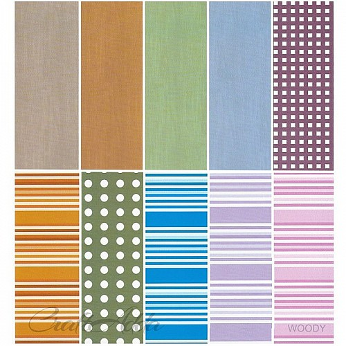 Assorted A4 Paper Pack - Woody (Set of 30 sheets)