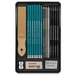 Prismacolor Premier Graphite Drawing pencil Set (18 pieces)