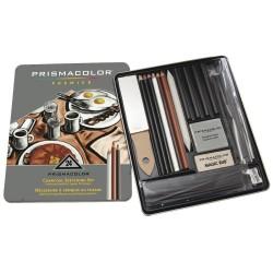 Prismacolor Premier Charcoal Sketch Set (24 pieces)