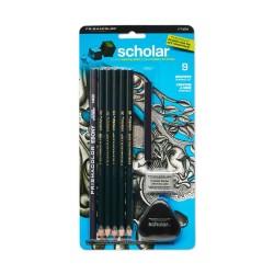 Prismacolor Scholar Graphite Pencil (Set of 9)