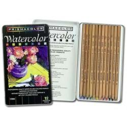 Prismacolor Watercolor Pencils - Set of 12 pencils