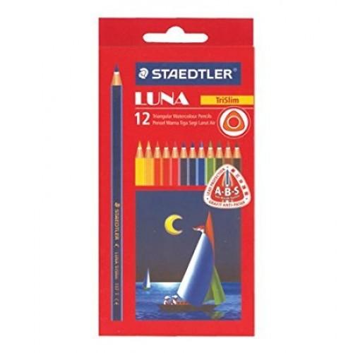 Staedtler Luna Trislim Coloured Pencils - Pack of 12