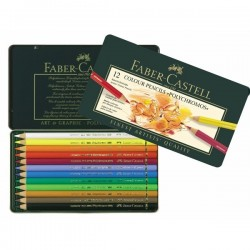 Faber Castell Polychromous Color Pencils - Set of 12