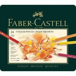 Faber Castell Polychromous Color Pencils - Set of 24
