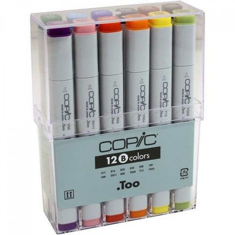 Knitting Markers Walmart : Buy copic basic colors marker set of markers online