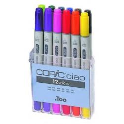 Copic Ciao 12pc Basic Set