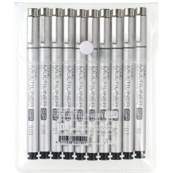 Copic Multiliner SP10A (Set of 10)